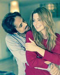 """Maximilian Nisi e Benedicta Boccoli, protagonisti di """"Fiore di Cactus"""" (foto Ilaria Borghi)"""