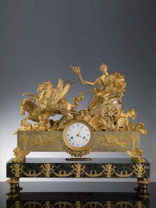 Orologio da mensola, cassa e meccanismo: Louis Courvoisier & Comp.e, 1811-1814