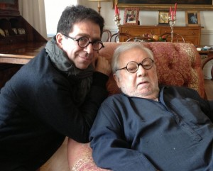 Pino Strabioli e Paolo Villaggio