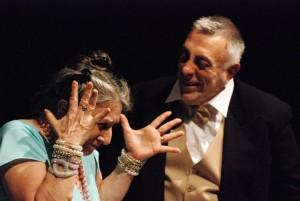 Sissi Abbondanza e Vincenzo De Caro in 'Il ballo'_foto di Paolo Lauri