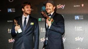 Luca Marinelli e Claudio Santamaria