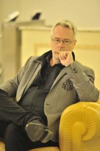 Il regista Michal Znaniecki