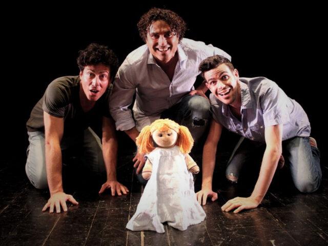 """""""Tre uomini e una culla"""": frizzante commedia francese in salsa toscana"""