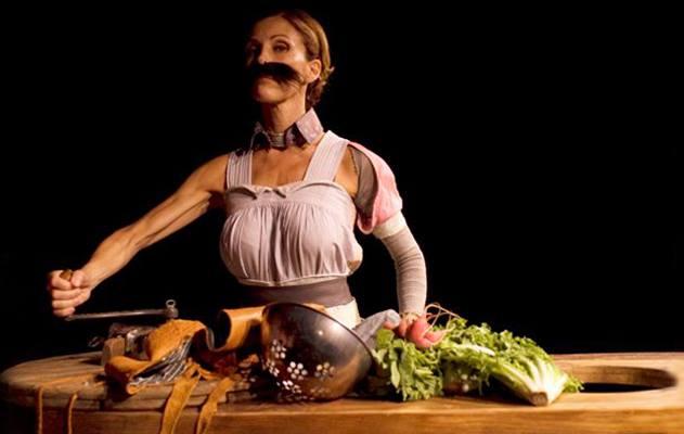 "ROMA. ""Cibami"" e Tiziana Foschi ""cucina"" l'orco in scena!"