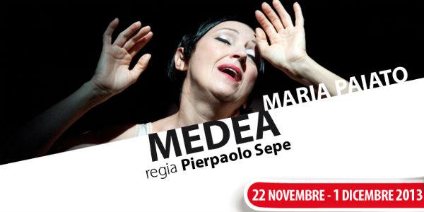 """Maria Paiato in """"Medea"""" per la regia Pierpaolo Sepe"""