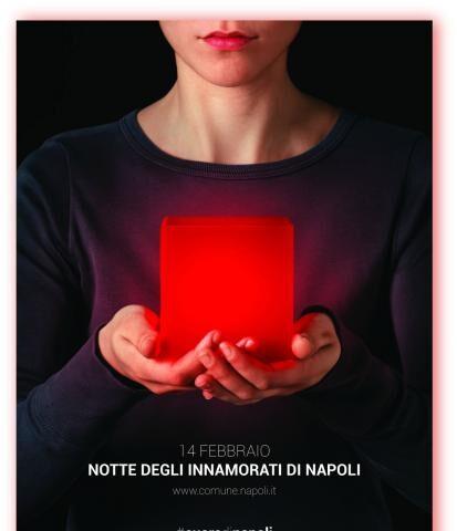 """A San Valentino i cuori battono all' unisono: """"Notte degli innamorati di Napoli"""""""