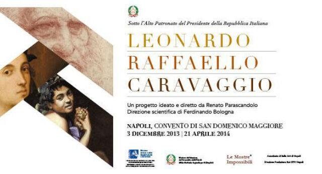 """Continuano i week-end d'arte di """"Leonardo Raffaello Caravaggio – Una Mostra Impossibile"""""""
