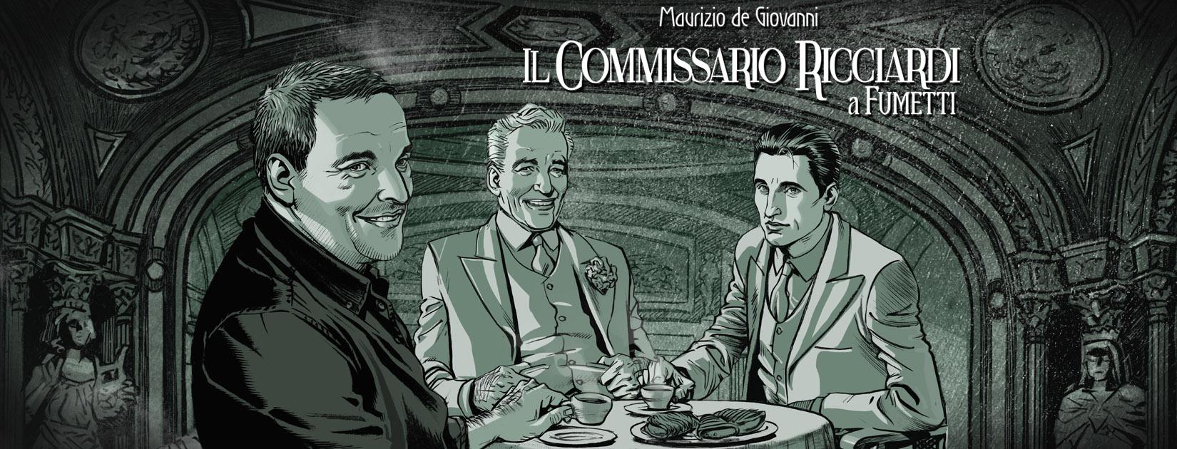 Commissario Ricciardi a Fumetti