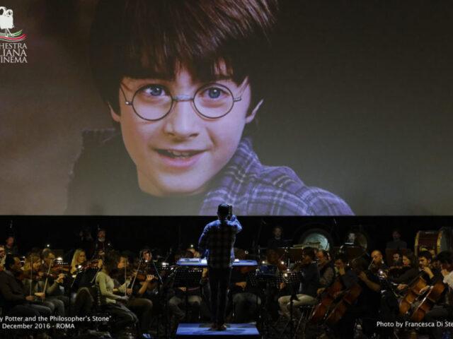 Harry Potter all'arena Flegrea