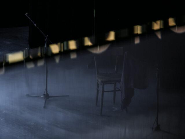 I Giganti della Montagna /Radio edit, Roberto Latini: una voce in scena