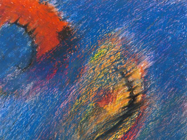 Lucio Salzano dipinge l'energia della città<br>Esposizione a Roma e a Napoli