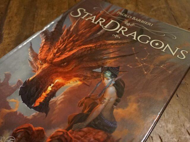 """""""Stardragons"""", draghi e stelle illustrati da Paolo Barbieri"""