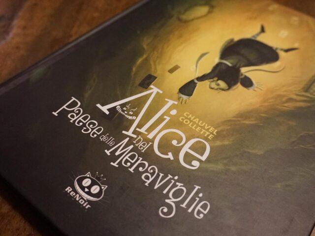 """""""Alice nel paese delle meraviglie"""", la versione dark di Renoir Comics"""