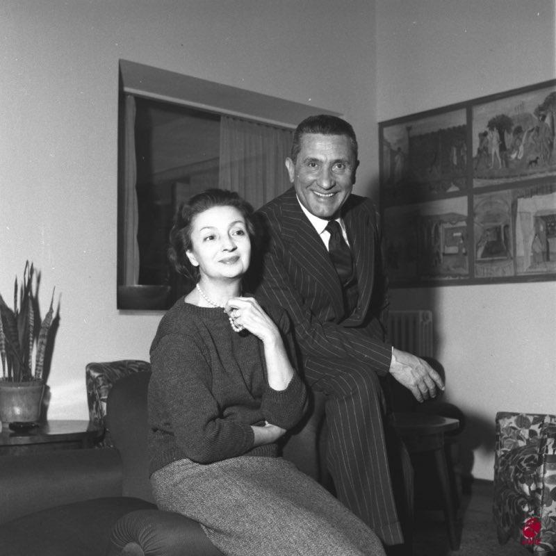 Paolo Stoppa e Rina Morelli