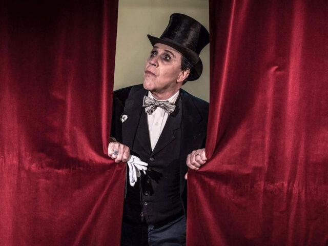 Giacomo Rizzo nel debutto nella produzione del Teatro lendi