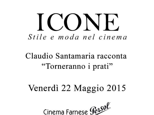ROMA. Claudio Santamaria al CINEMA FARNESE PERSOL a Campo dè Fiori