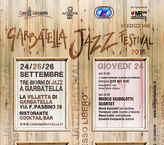 ROMA. Il Garbatella Jazz Festival anima il quartiere capitolino