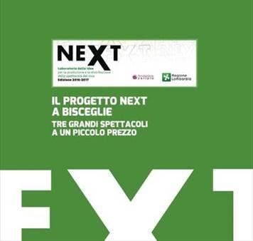 NEXT 2017: il progetto per la promozione e la distribuzione delle nuove realtà teatrali