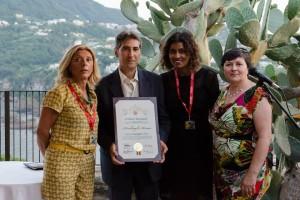 L'Assessore Caterina Miraglia all'Ischia Film Festival