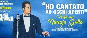 """""""Ho cantato ad occhi aperti"""", Napoli ricorda il grande Nunzio Gallo"""