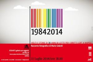 Napoli: Mario Gelardi racconta le lotte per i diritti gay in una mostra fotografica.