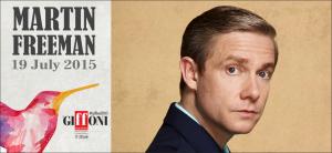 Al Giffoni Experience Martin Freeman il prossimo 19 luglio
